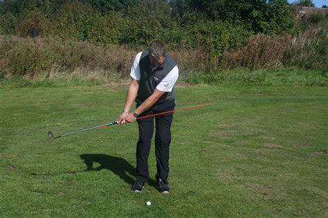 swing plane drills with alignment sticks pure golf academy