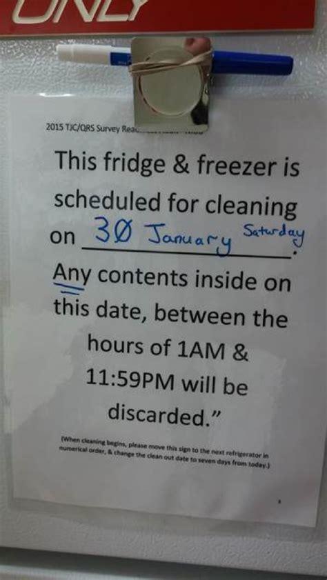 apply   frightening fridge  work