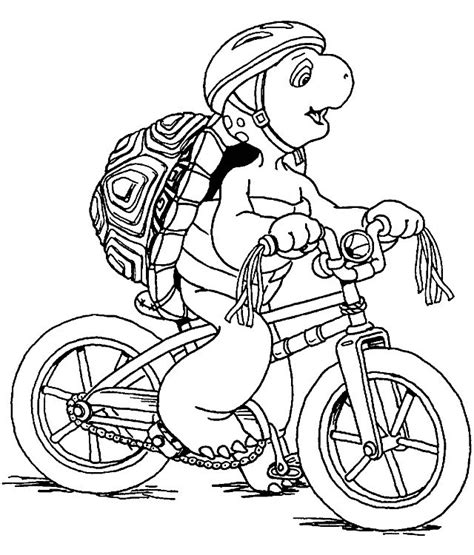Franklin Coloring Pages n 36 coloring pages of franklin