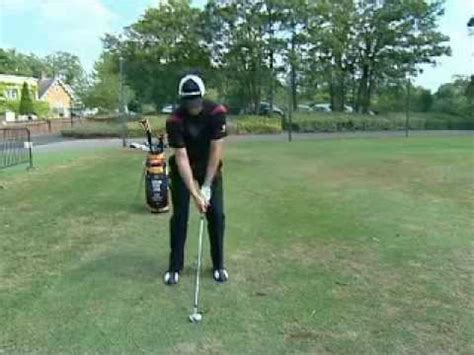 justin rose swing tips punch shot golf tips from justin rose lessonpaths