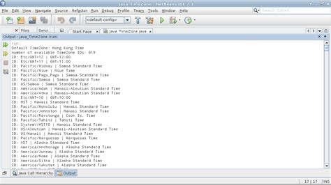 Calendar Class Java Java Buddy Get Available Timezone With Java Util Timezone