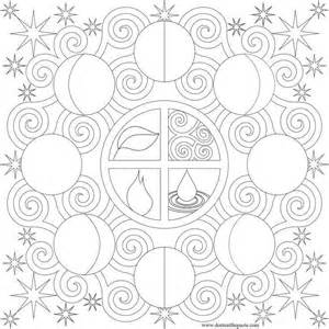moon coloring pages for adults phases moon coloring pages coloring home