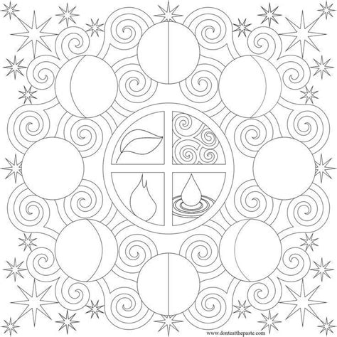 coloring pages of the moon s phases phases moon coloring pages coloring home
