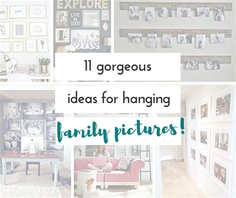 family photo hanging ideas ideas for hanging family pictures embrace the mess