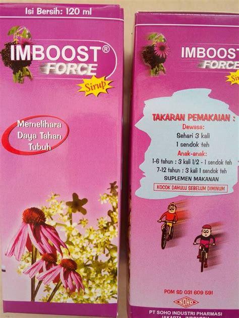 Vitamin Imboost Anak jual imboost sirup 120ml vitamin daya tahan tubuh jerukbali