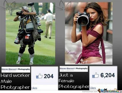 Photographer Meme - male vs female photographer by joeninety3 meme center