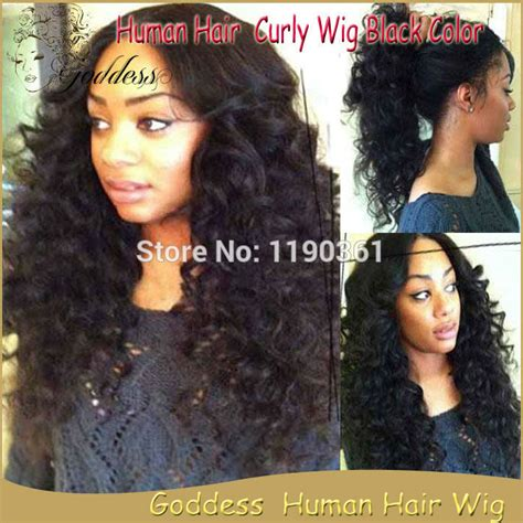 updo wigs for black women loose curly wig full lace human hair wig for black women