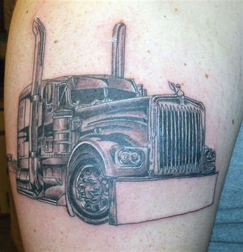 tow truck tattoo designs 38 best images about truck tattoos on semi