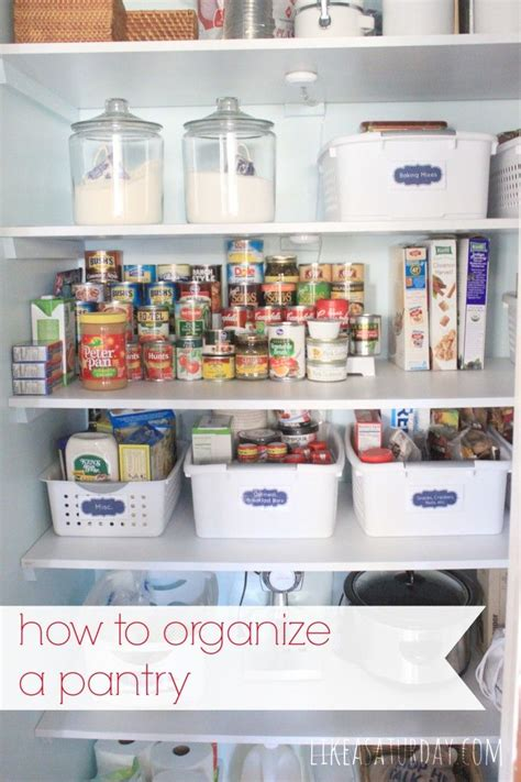 best way to organize pantry how to organize a pantry best of pinterest pinterest