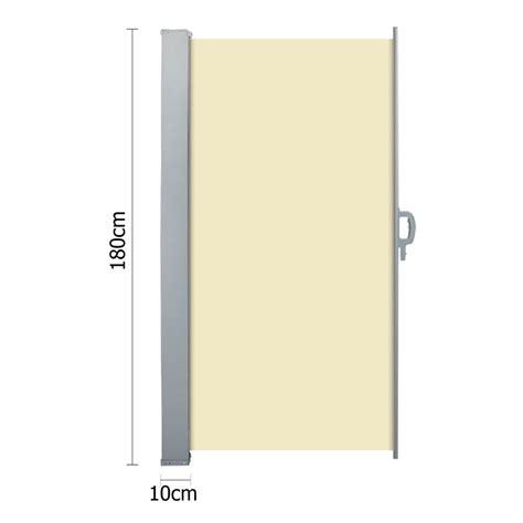 retractable side awning retractable side awning shade 180cm beige