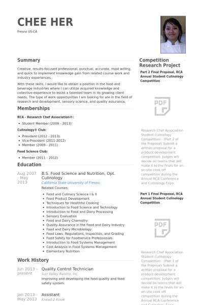 Quality Technician Resume by Quality Resume Sles Visualcv Resume Sles Database