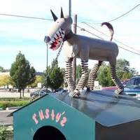 the dog house holland mi holland mi rusty the scrap metal dog