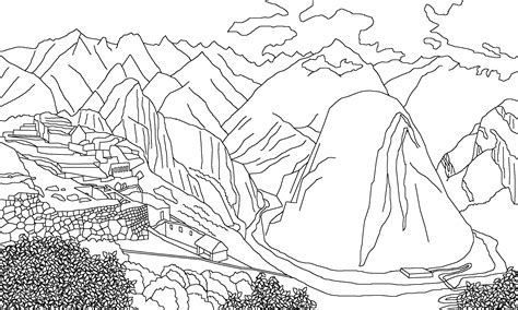 Peru Map Coloring Coloring Pages Peru Coloring Pages