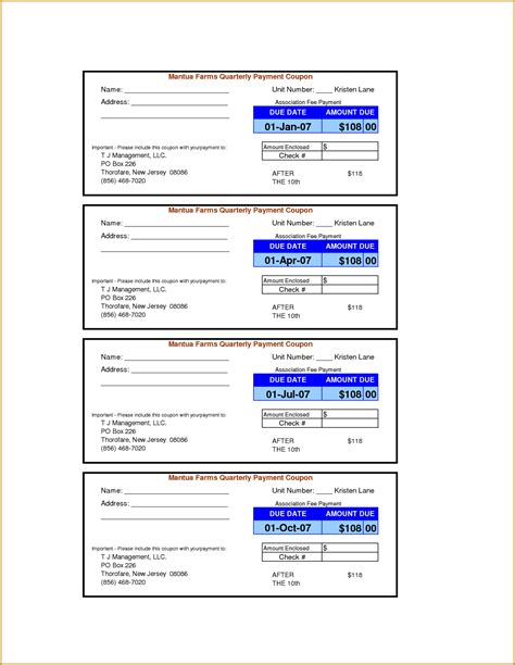 doc 585585 10 payment coupon templates free sle