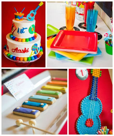 Free Giveaways On Your Birthday - baby jam musical themed 1st birthday party via karas party ideas karaspartyideas com