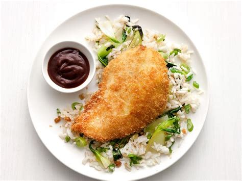 chicken katsu by frozzen food chicken katsu with rice recipe food network