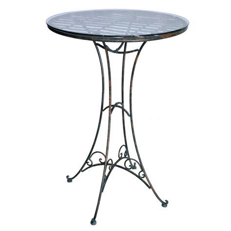 wrought iron bar table wrought iron bar table collection quot verdigri quot