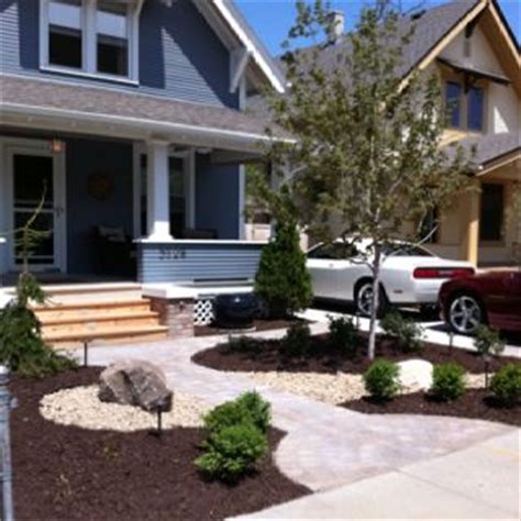 grassless front yard 8 best images about grassless landscaping on