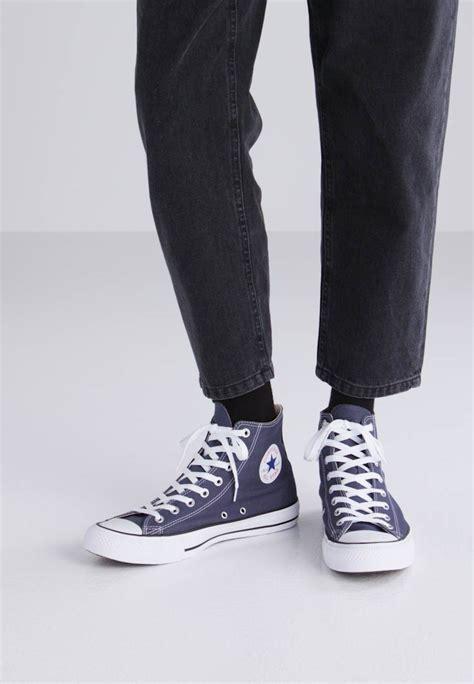 Converse All High converse chuck all high top trainers navy zalando co uk