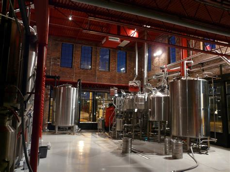 brewery interior on