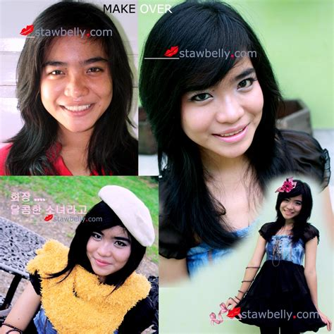 Bedak Basah Makeover by Step By Step Make Korean Style