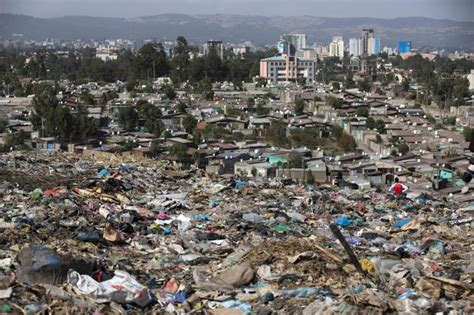 Where Can I Dump A by A View Of Addis Ababa Deadly Garbage Dump