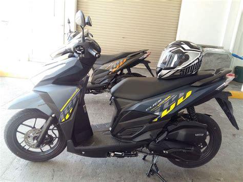 Trail and Urban Rider   Telly Buhay: Honda Click 150i