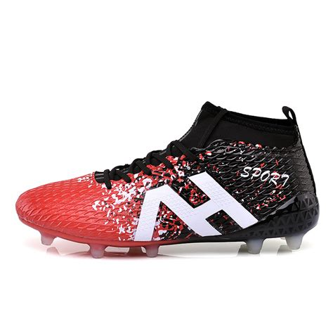 indoor football shoes sale high ankle soccer shoes fly indoor football