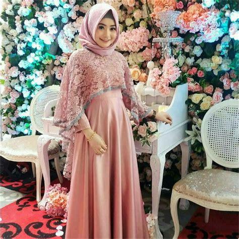 Maxy Cantik Busana Muslim Pesta Gamis Modern Kekinian 30 inspirasi desain gaun pesta muslim terbaru 2018 hijabunda
