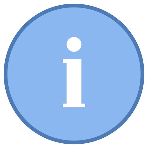 Info Icon - Free Download at Icons8