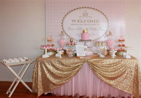couture baby shower theme big company the gold and pink princess