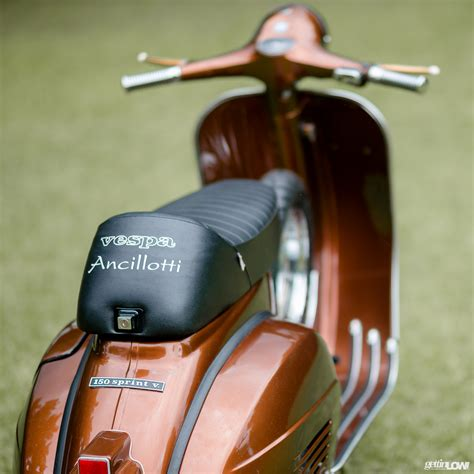 Modifikasi Vespa Sprint 1977 by Gettinlow Clean Shine Piaggio Vespa Sprint