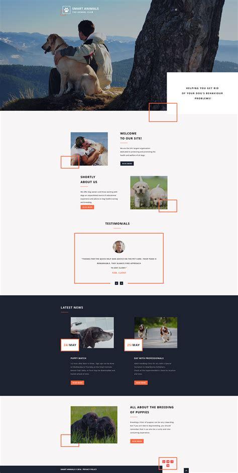 Pet Care Web Template Smart Website Templates