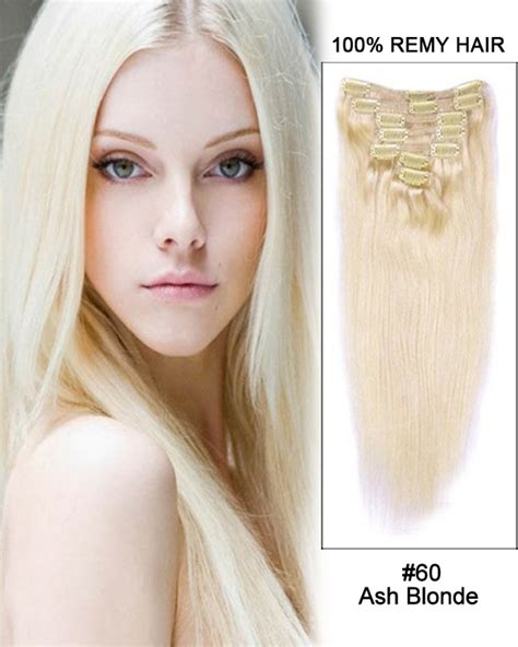 ash blonde hair extensions 14 7pcs 18 613 ash white blonde body wave 100 remy hair