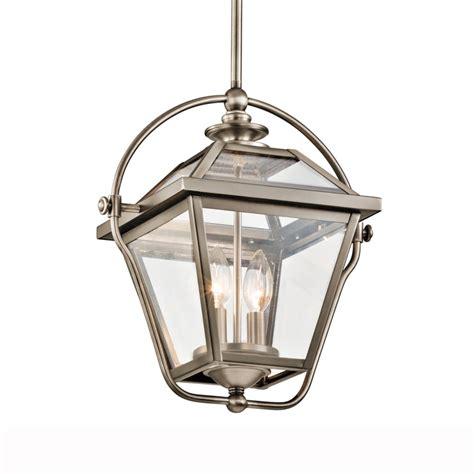 Kichler Ryegate Two Light Pendant In Antique Pewter Kichler Lighting Company
