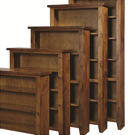 dg3472 frt aspen home furniture bookcase 70inh fruitwood