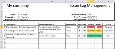 items issue log template with sample data excel templates