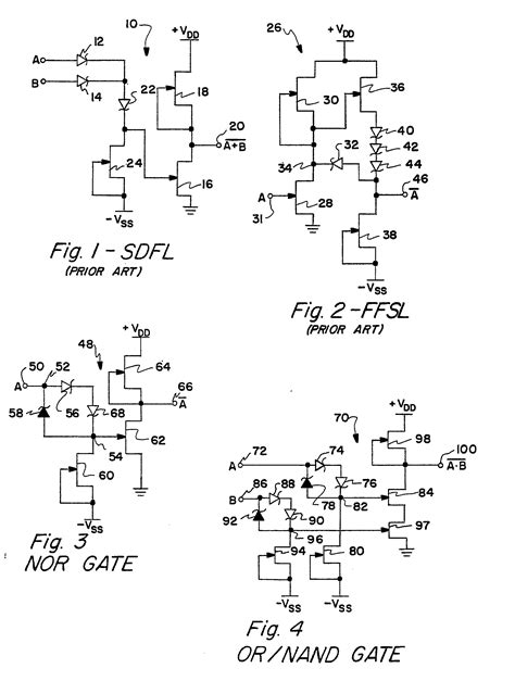 schottky diode effect patent ep0170134b1 schottky diode field effect transistor logic circuit patents