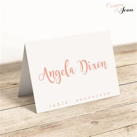 name cards for tables template printable folded place cards table name cards template