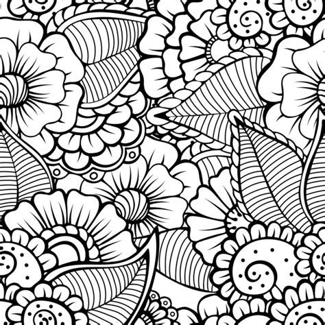 download pattern eps floral pattern design vector free download
