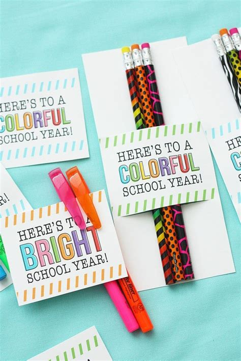 pencil pen gift tags printable back to school 20 awesome back to school printables landeelu