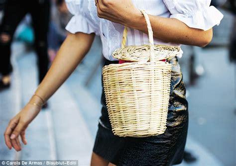 Kemeja Cantik Marks Spencer tas keranjang untuk til gaya yay or nay net z