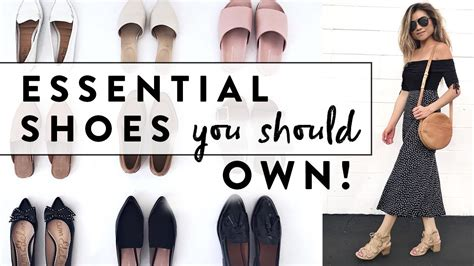 Miss Minimalist Wardrobe by 6 Essential Shoes Every Should Own Minimalist