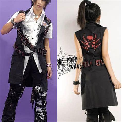 Tshirtkaos Rock 5 Jidnie Clothing trendy black japanese fashion clothes vest jacket sku 11401072