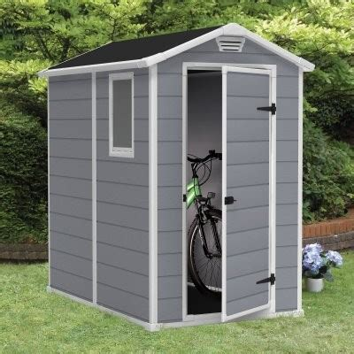 Keter Manor Resin Shed by Keter Manor 4 X 6 Ft Storage Shed Modern Sheds By