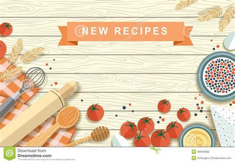 Furniture Layout Tools various recipe ingredients in flat design stock vector