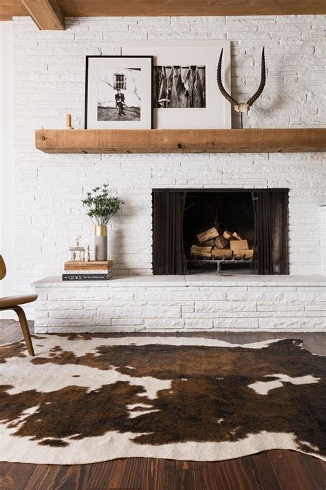 cowhide home decor love this amazing brown white faux cowhide rug home
