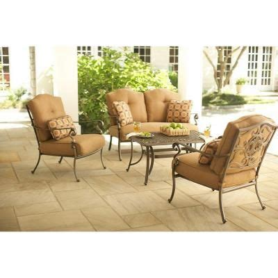 martha stewart living miramar ii  piece patio seating set