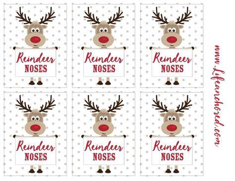 free printable reindeer noses poem dropbox reindeer noses printable tags jpg christmas