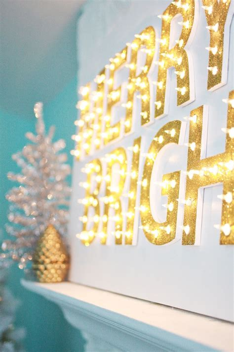Living Room Ideas 2017 christmas light up marquee diy a beautiful mess